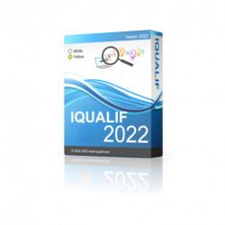 IQUALIF फ्रांस सफेद, व्यक्तियों