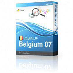 IQUALIF Belgium 07 Yellow, i professionisti