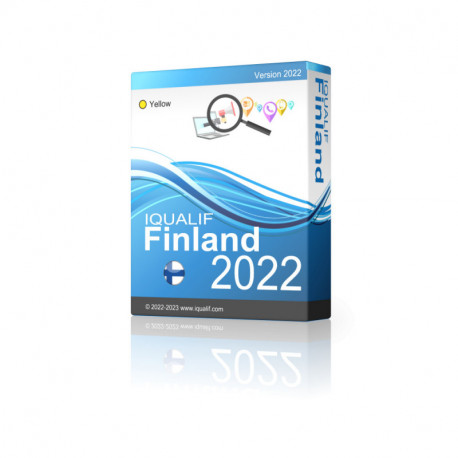 IQUALIF Finland Yellow, Professionals, Business, Small Business